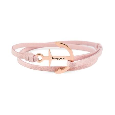 anker armband rosegold rosa