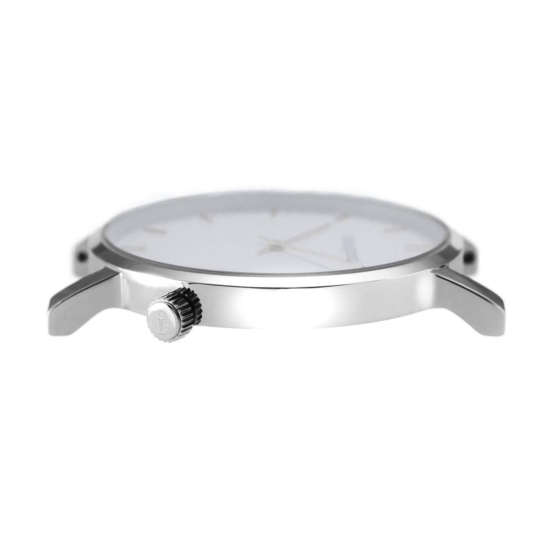 classygood Uhr silber weiß